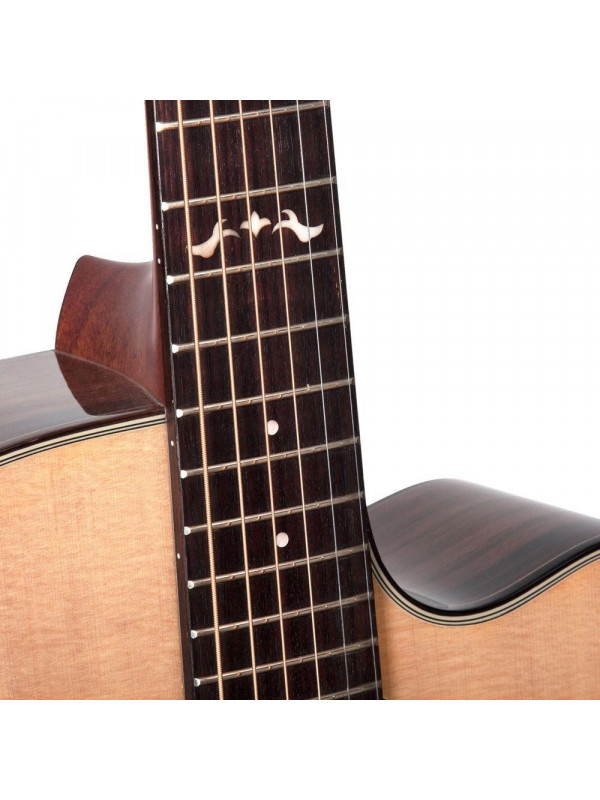CRAFTER HD800CE/N NAT Electro Acoustic Guitar with Bag